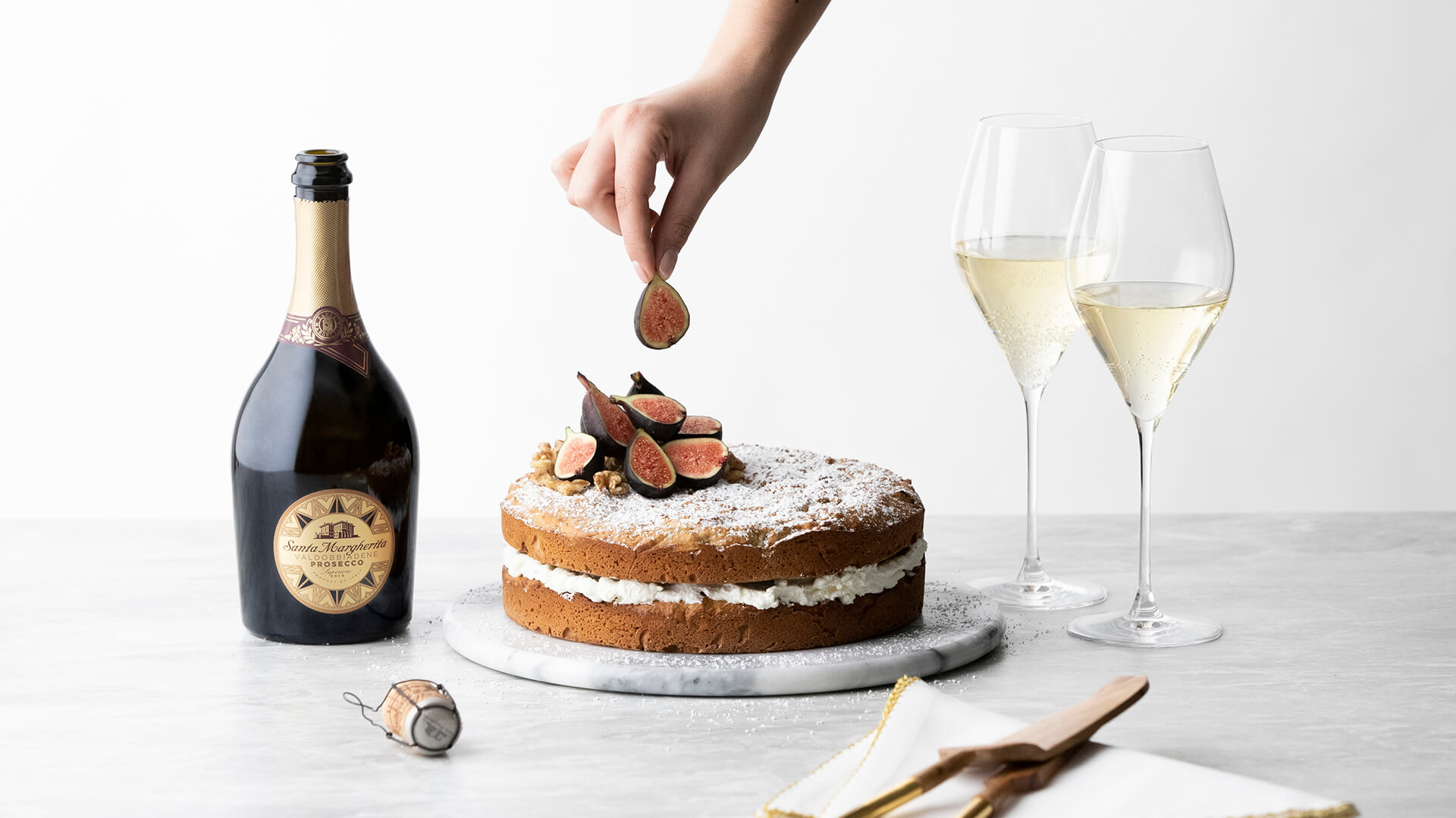 Fig and Walnut Cake